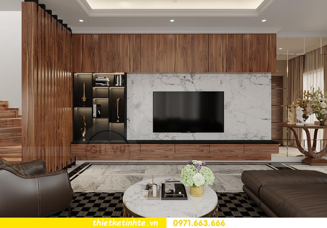 thiết kế thi công nội thất biệt thự OCean Park sang trọng 02