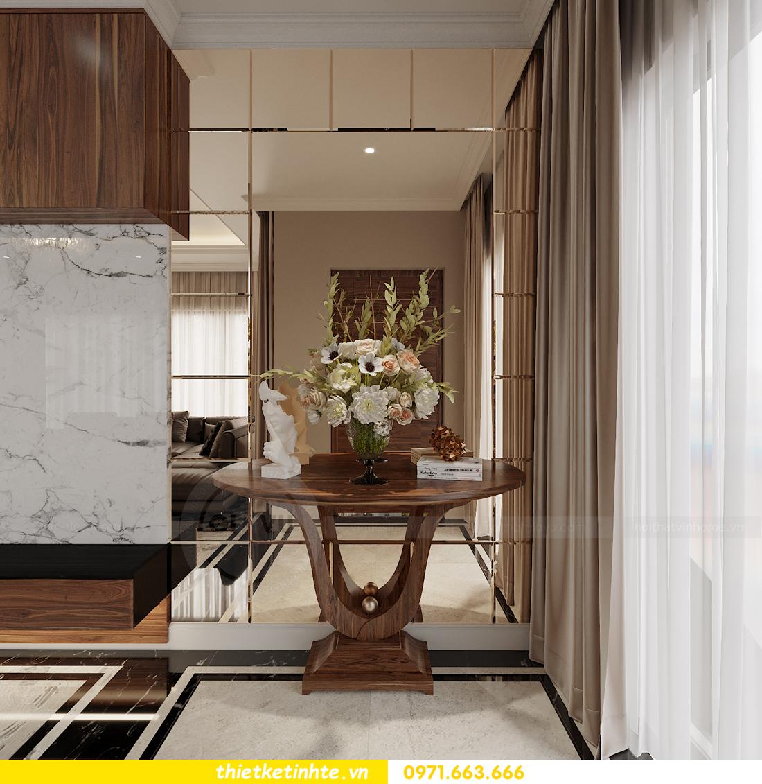 thiết kế thi công nội thất biệt thự OCean Park sang trọng 03