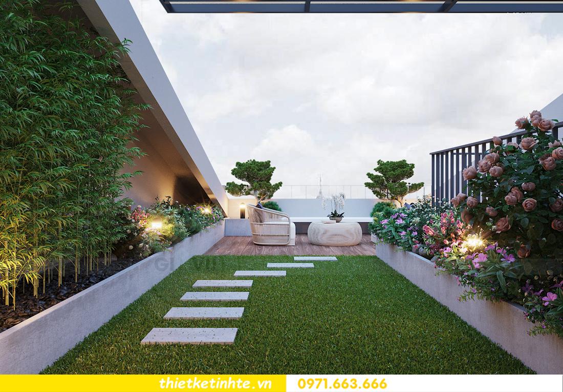 thiết kế thi công nội thất biệt thự OCean Park sang trọng 31