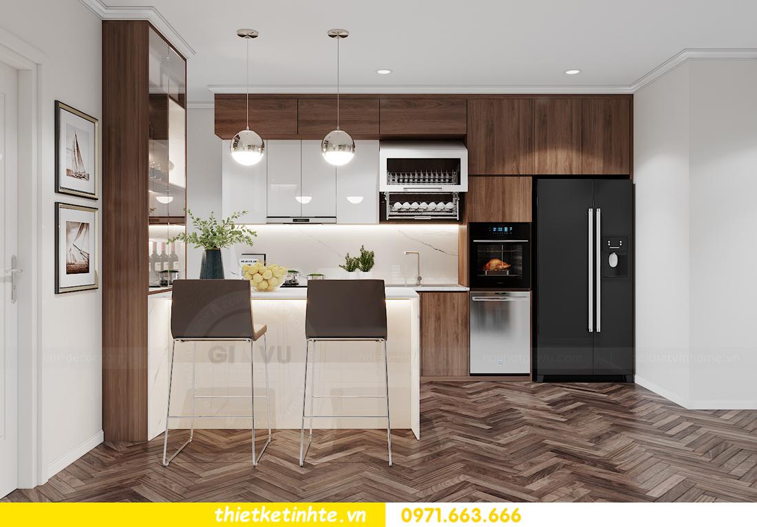mẫu nội thất căn hộ đẹp tại Vinhomes Ocean Park 3