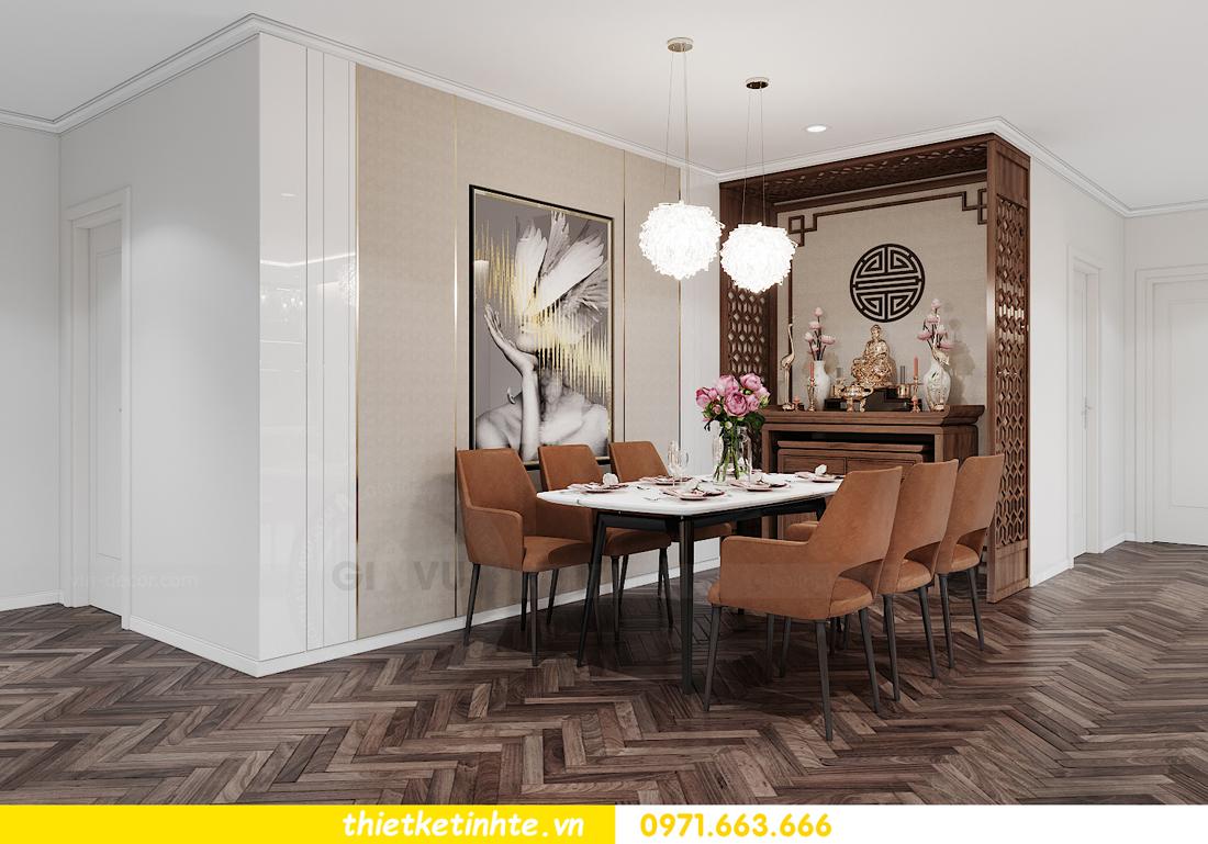 mẫu nội thất căn hộ đẹp tại Vinhomes Ocean Park 4