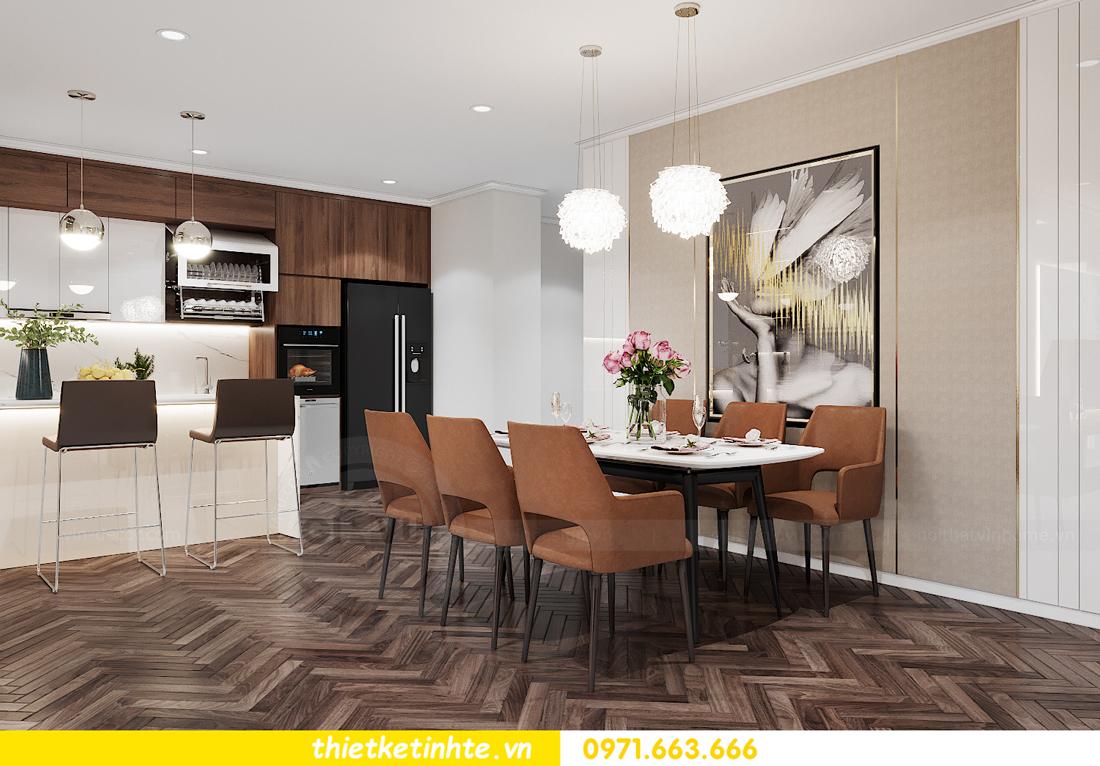 mẫu nội thất căn hộ đẹp tại Vinhomes Ocean Park 5