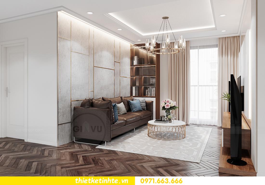 mẫu nội thất căn hộ đẹp tại Vinhomes Ocean Park 6