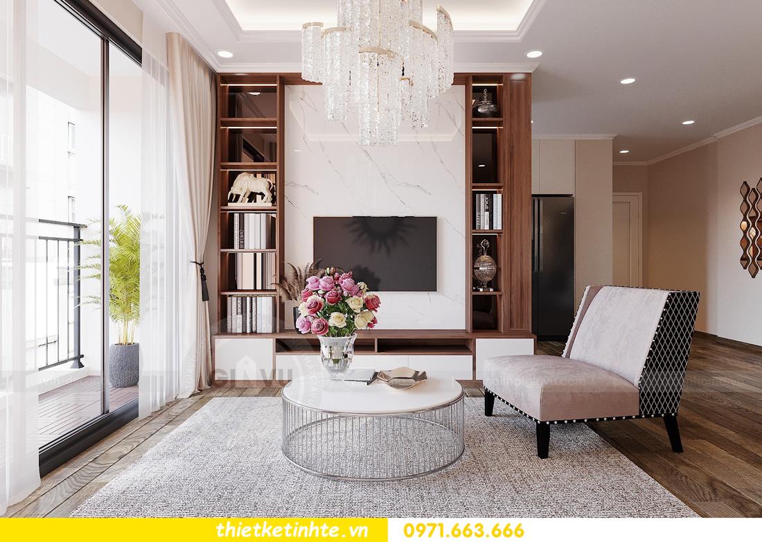 Mẫu thiết kế nội thất chung cư đơn giản mà đẹp 02