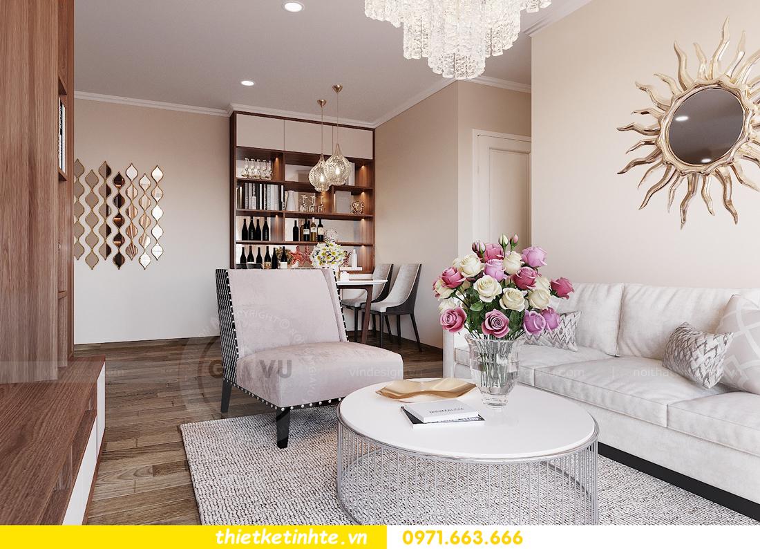Mẫu thiết kế nội thất chung cư đơn giản mà đẹp 03