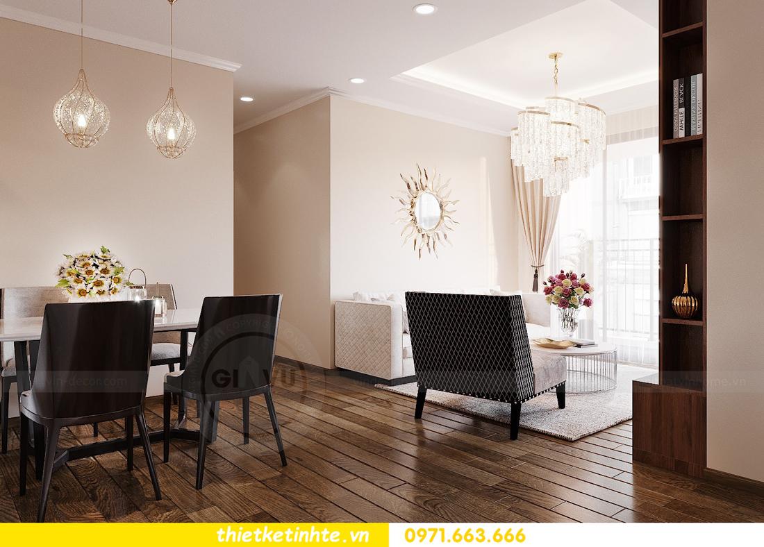 Mẫu thiết kế nội thất chung cư đơn giản mà đẹp 05