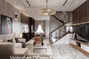 Thiết Kế Nội Thất Biệt Thự Ocean Park Nhà Anh Đăng