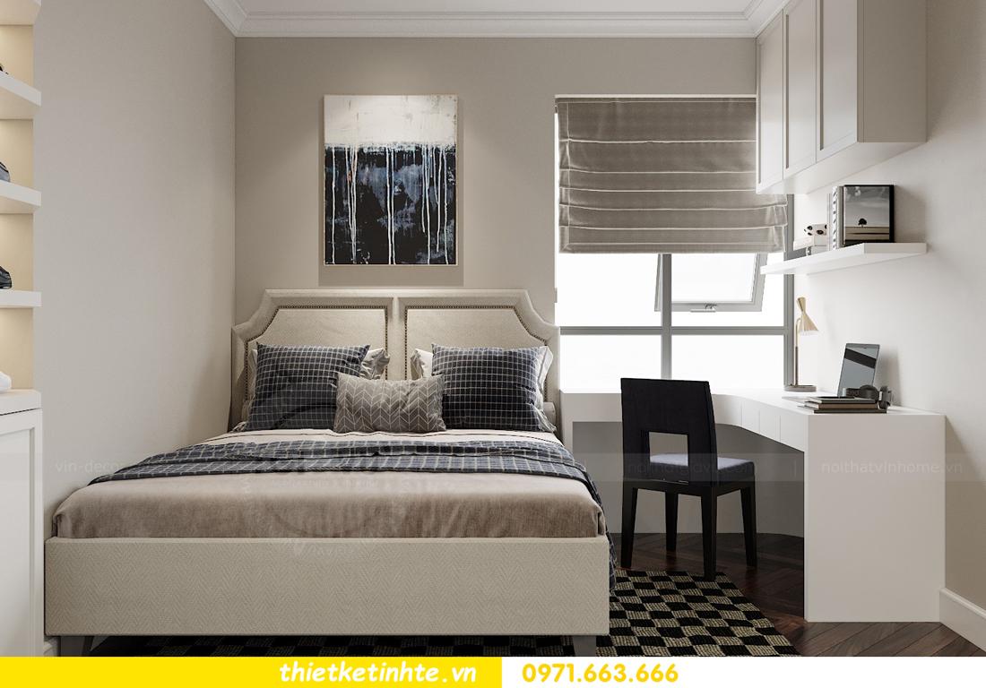 thiết kế nội thất căn hộ 3 phòng ngủ tại Imperia Sky Garden 12