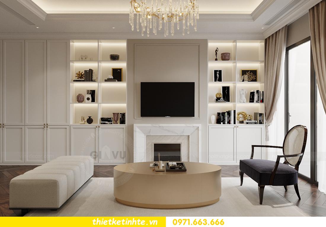 thiết kế nội thất căn hộ 3 phòng ngủ tại Imperia Sky Garden 2