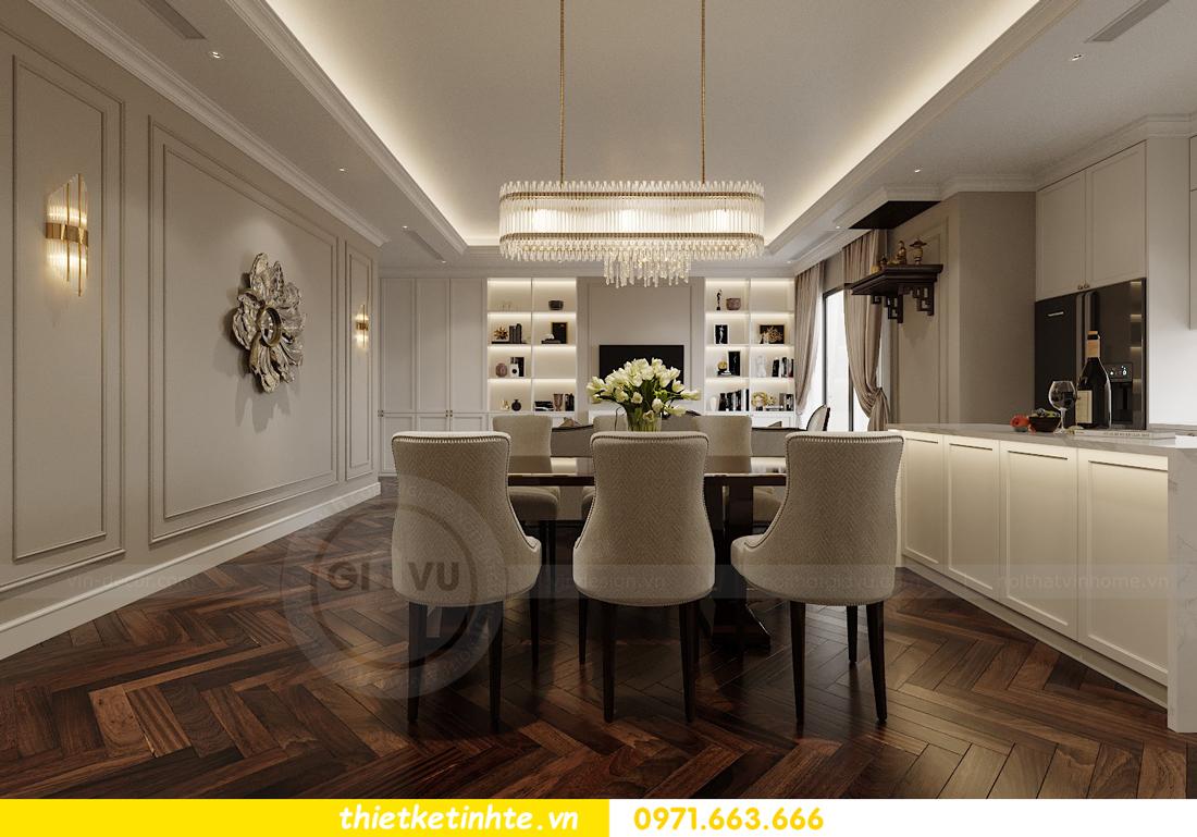 thiết kế nội thất căn hộ 3 phòng ngủ tại Imperia Sky Garden 5