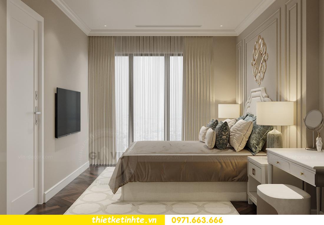 thiết kế nội thất căn hộ 3 phòng ngủ tại Imperia Sky Garden 7
