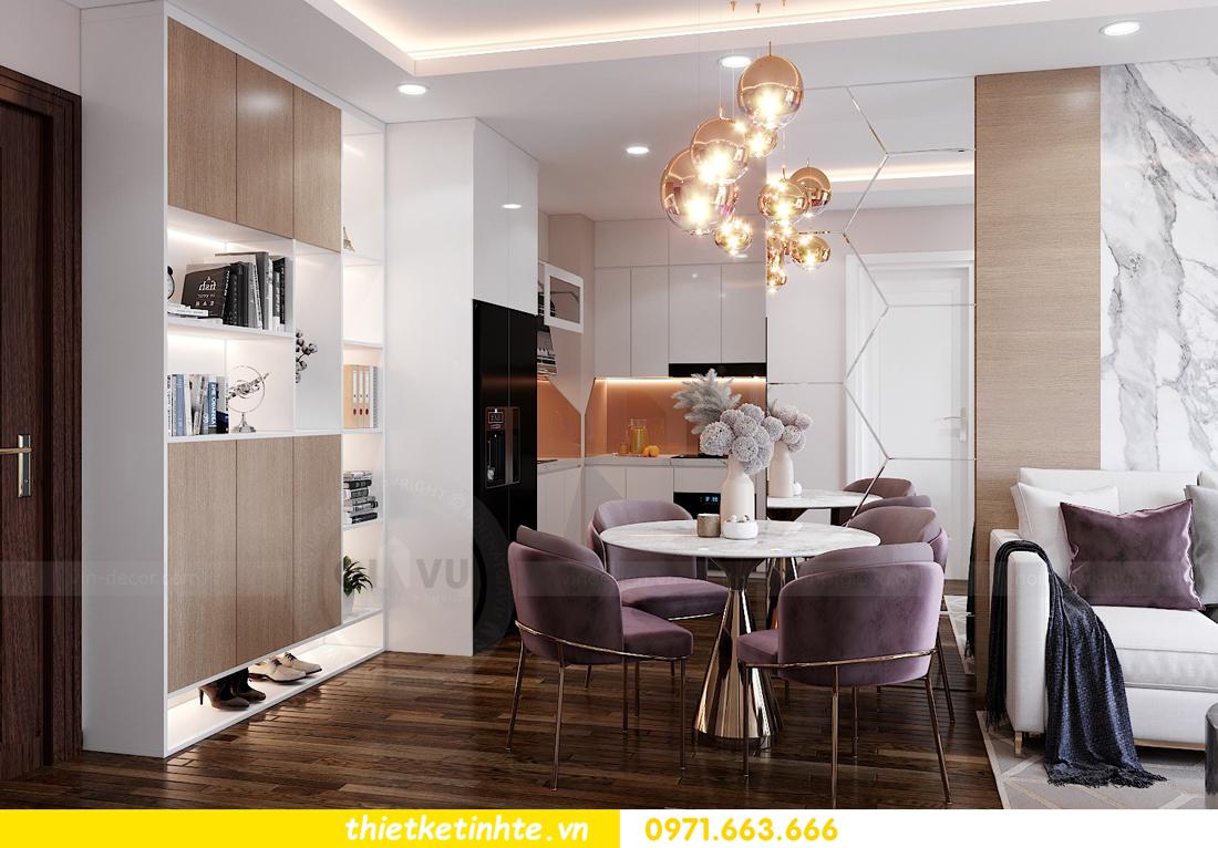 thiết kế nội thất căn hộ West Point tòa W1 căn 02 View1