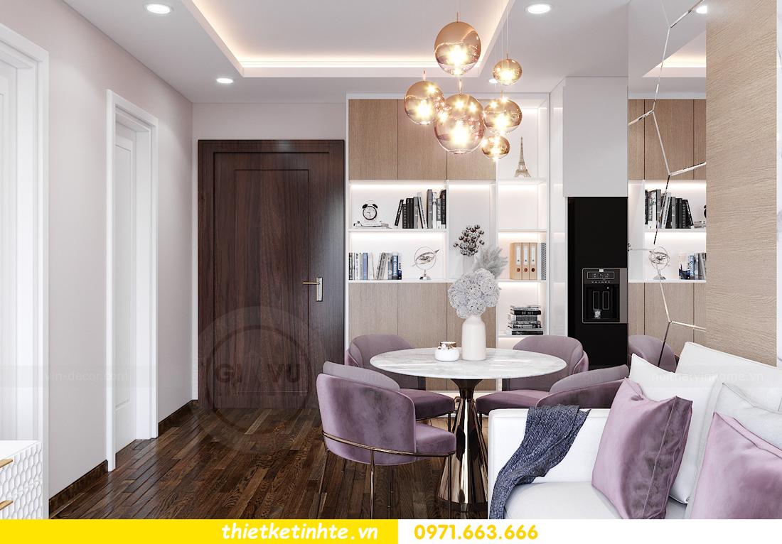 thiết kế nội thất căn hộ West Point tòa W1 căn 02 View2