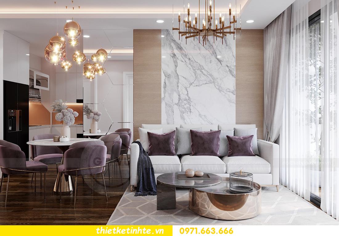 thiết kế nội thất căn hộ West Point tòa W1 căn 02 View3