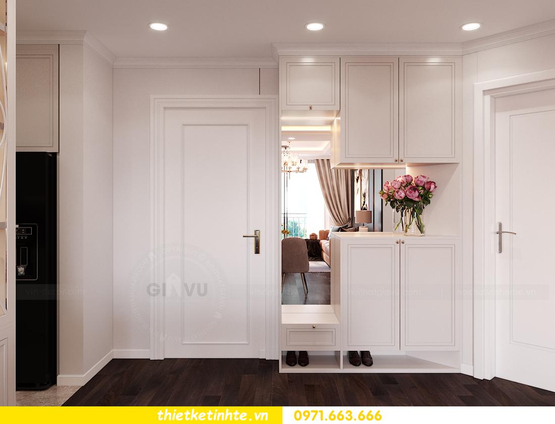 thiết kế nội thất chung cư Sunshine Garden nhà chị Nhung 1