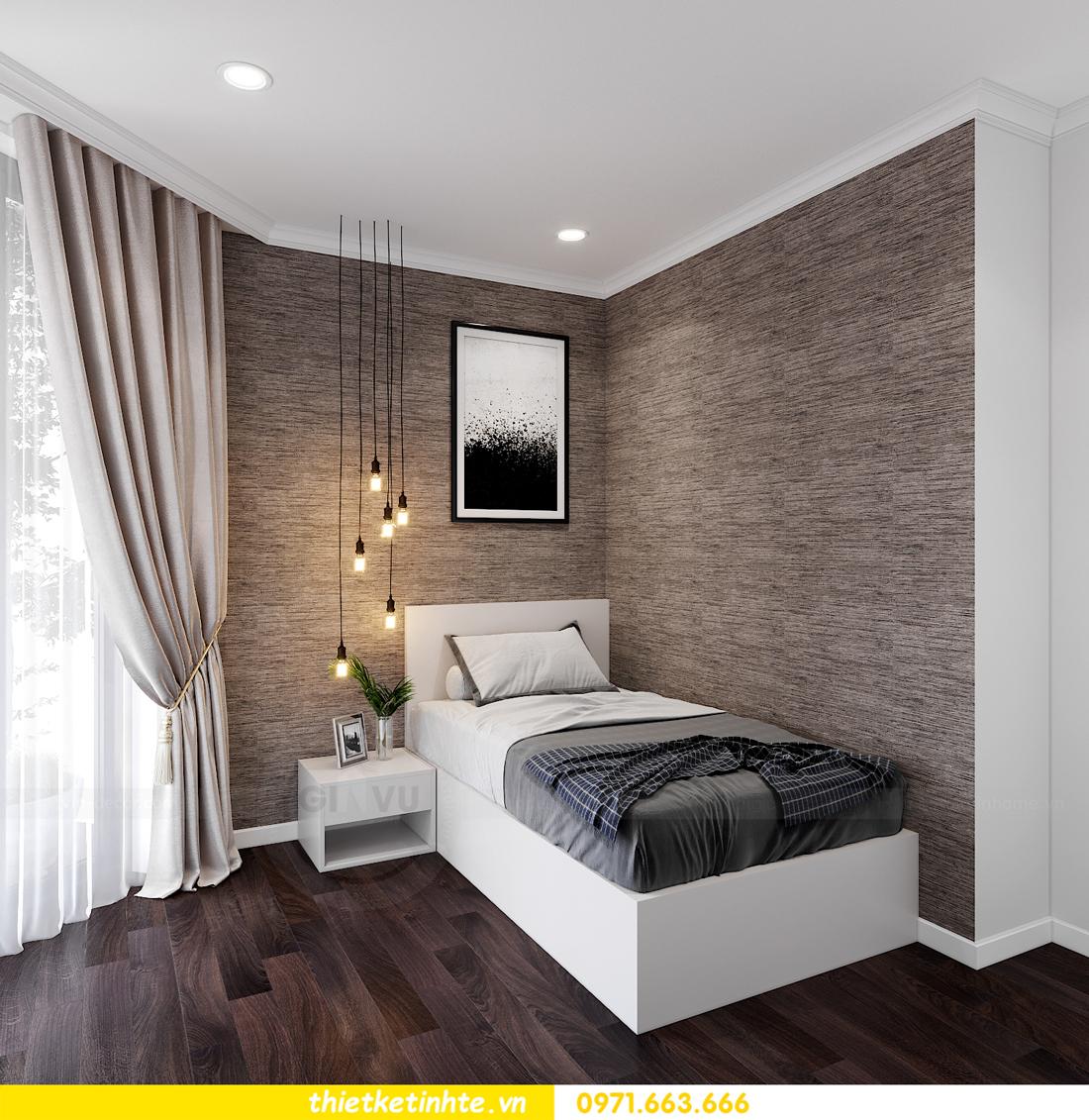 thiết kế nội thất chung cư Sunshine Garden nhà chị Nhung 10