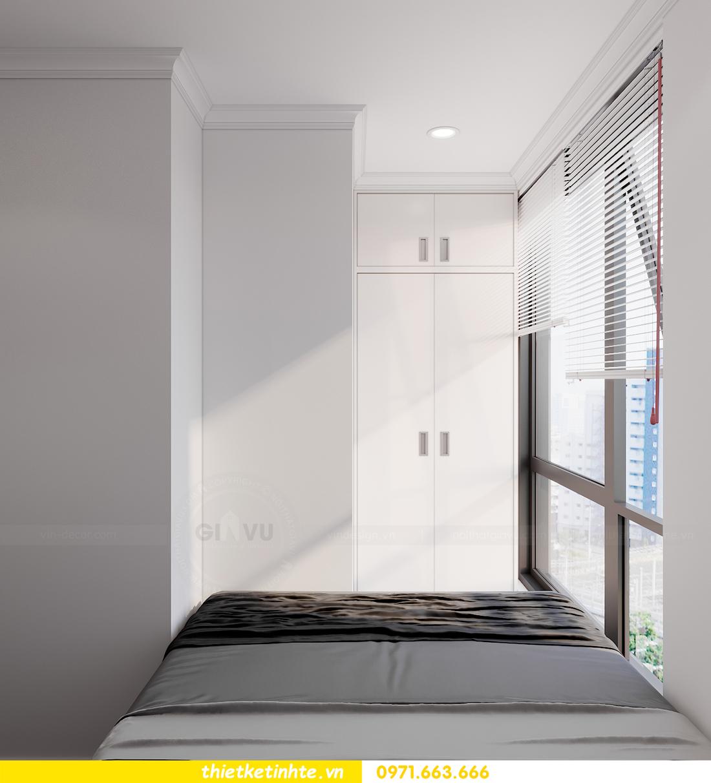 thiết kế nội thất chung cư Sunshine Garden nhà chị Nhung 11