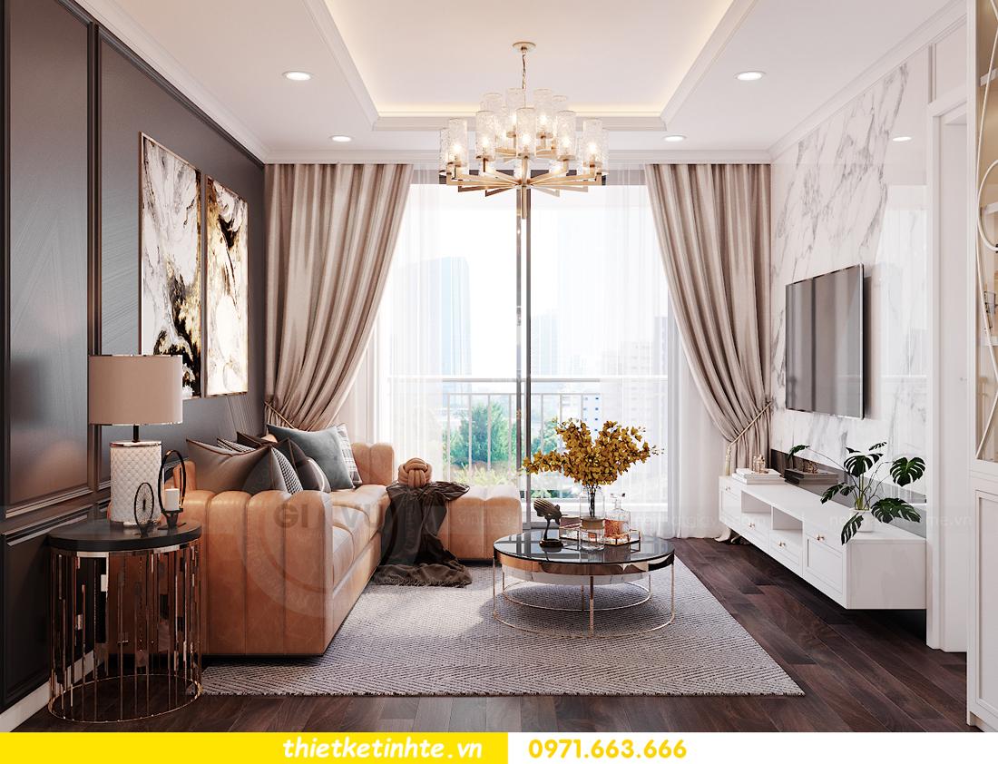 thiết kế nội thất chung cư Sunshine Garden nhà chị Nhung 3
