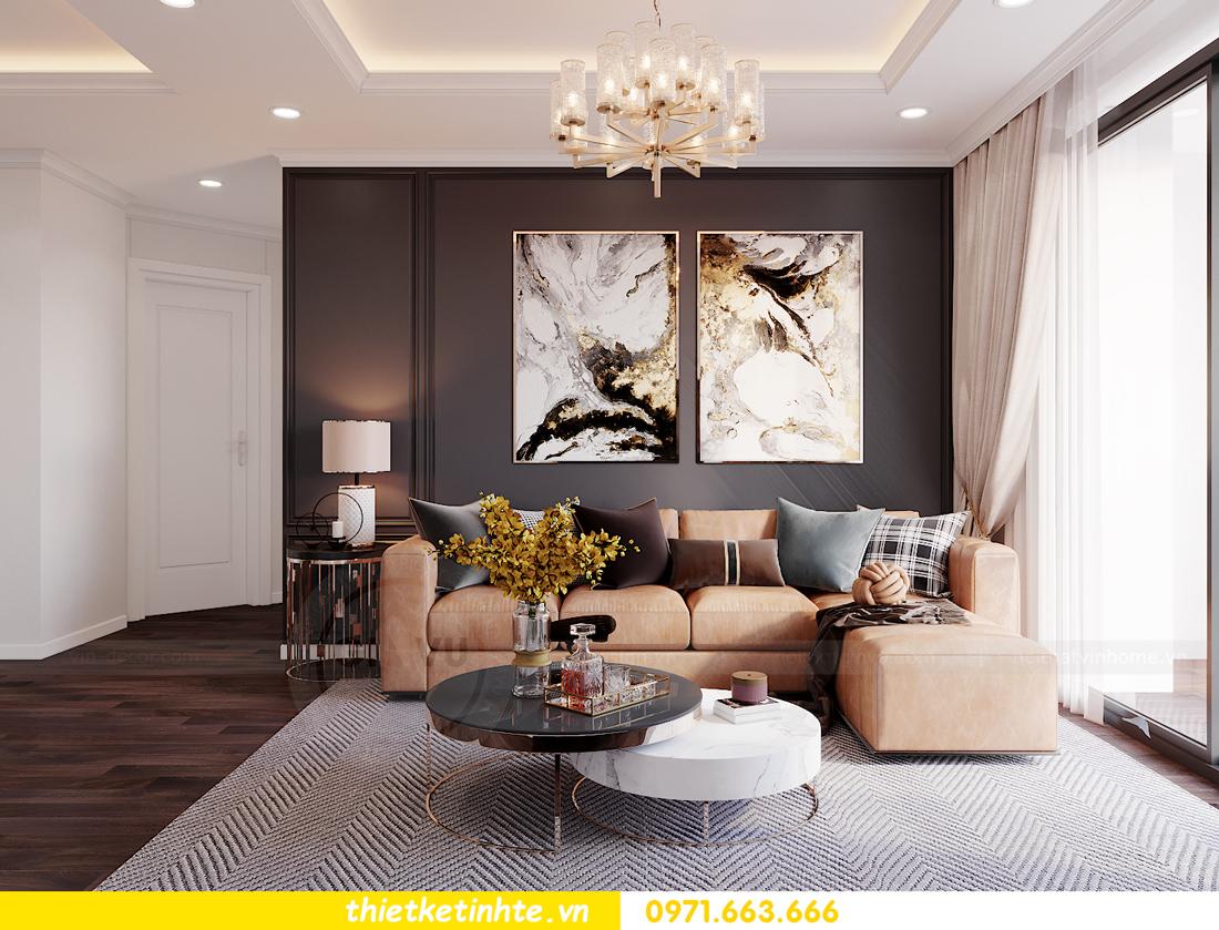 thiết kế nội thất chung cư Sunshine Garden nhà chị Nhung 4
