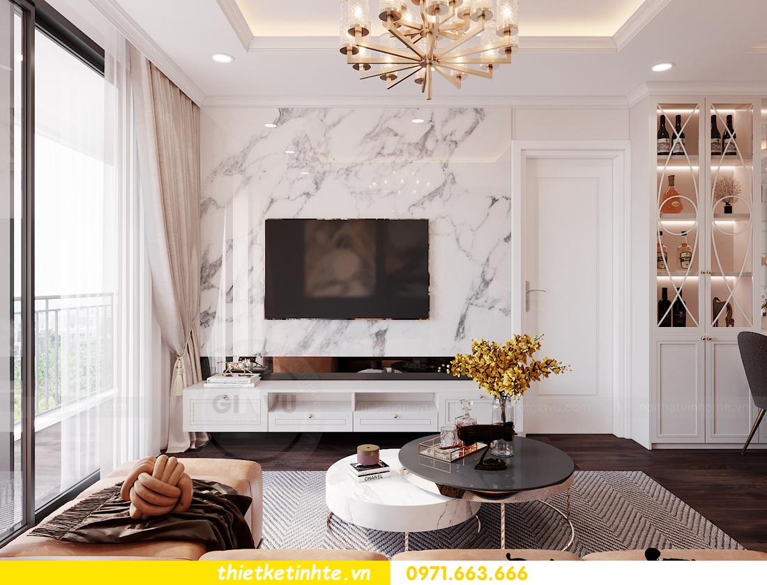 thiết kế nội thất chung cư Sunshine Garden nhà chị Nhung 5