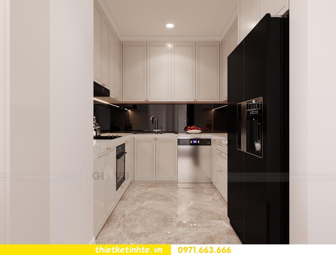 thiết kế nội thất chung cư Sunshine Garden nhà chị Nhung 6