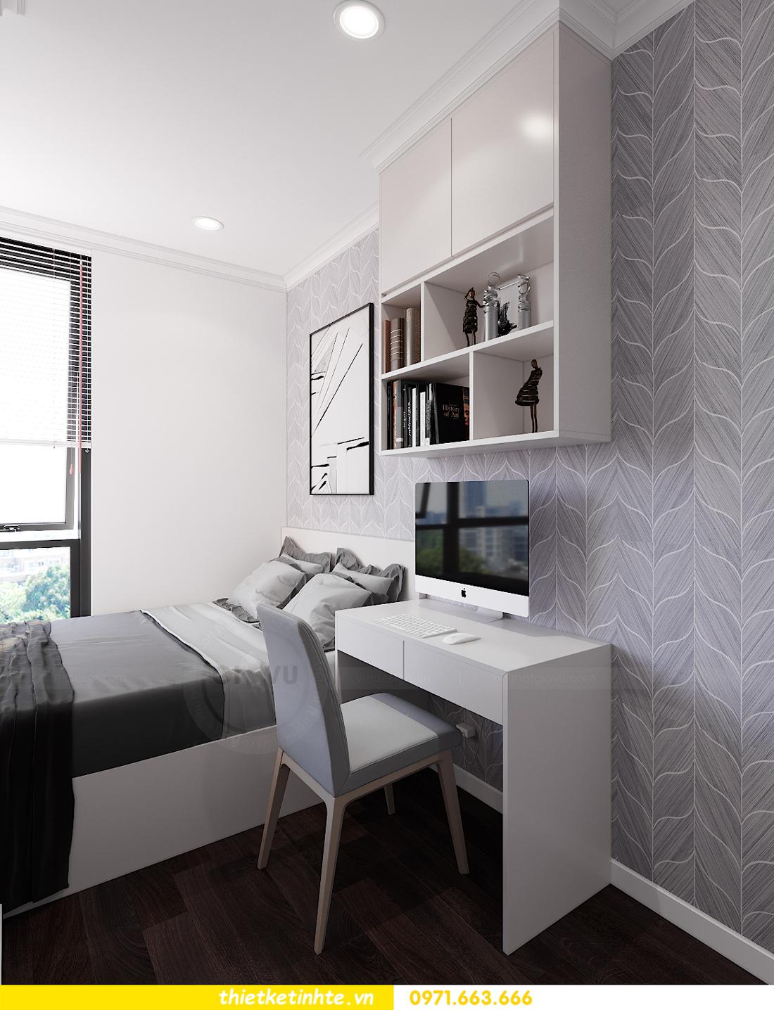thiết kế nội thất chung cư Sunshine Garden nhà chị Nhung 9