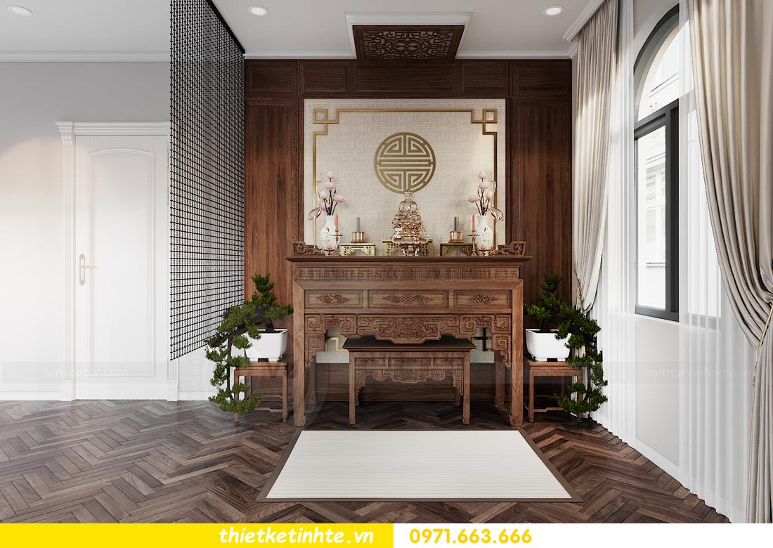 Mẫu thiết kế nội thất biệt thự đẹp tại Hải Dương 16
