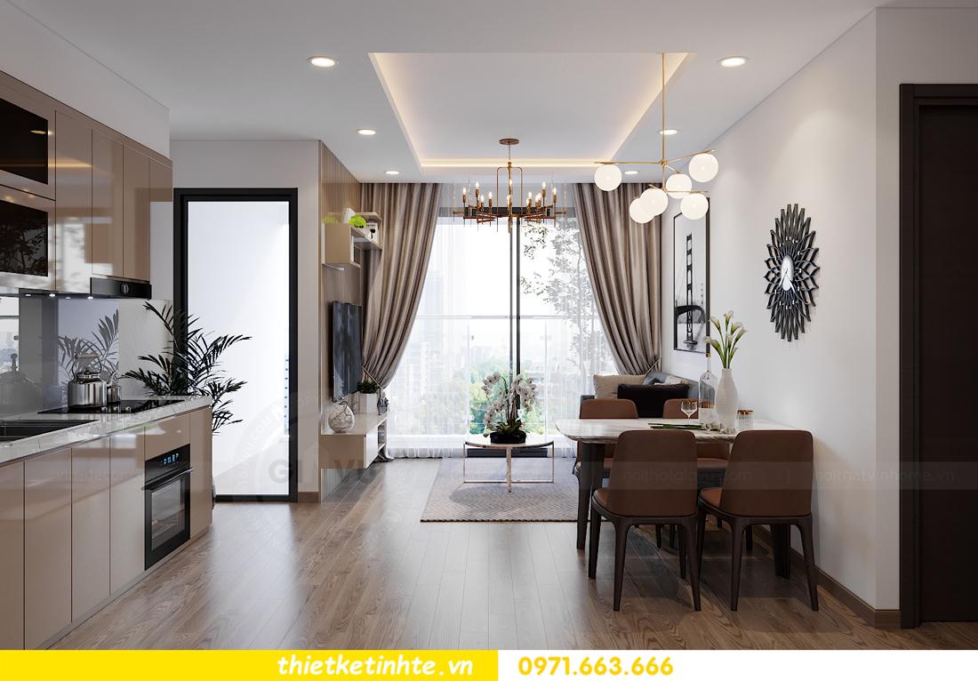 thiết kế nội thất căn hộ cho thuê tại Vinhomes West Point 02