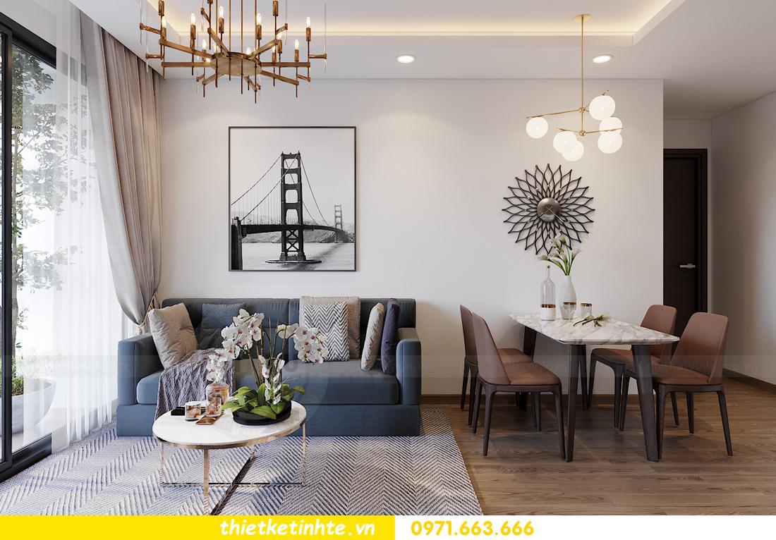 thiết kế nội thất căn hộ cho thuê tại Vinhomes West Point 04