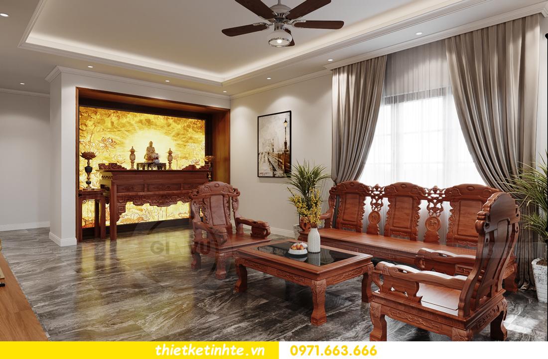 thiết kế nội thất nhà phố hiện đại nhà chị Linh Bắc Giang 1