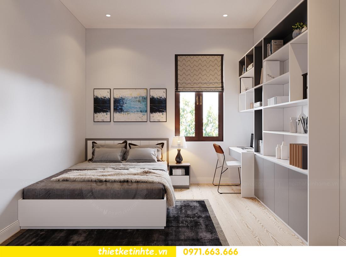thiết kế nội thất nhà phố hiện đại nhà chị Linh Bắc Giang 10