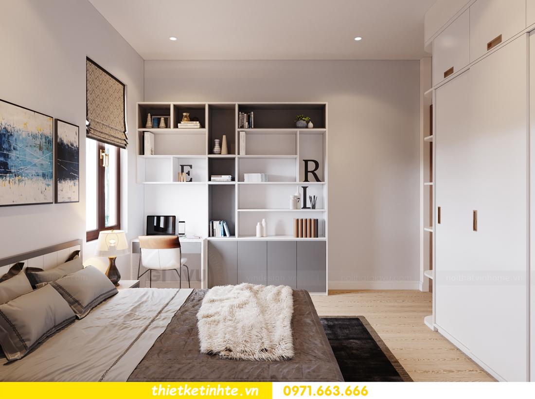 thiết kế nội thất nhà phố hiện đại nhà chị Linh Bắc Giang 11