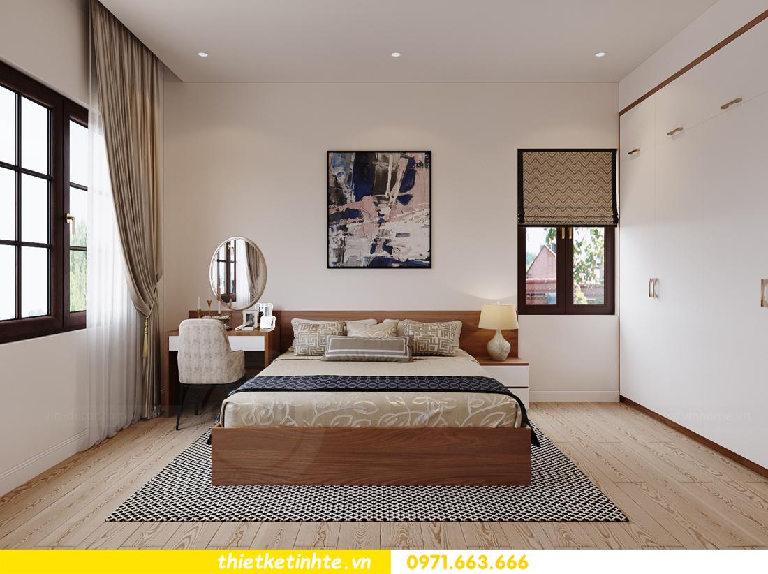 thiết kế nội thất nhà phố hiện đại nhà chị Linh Bắc Giang 12