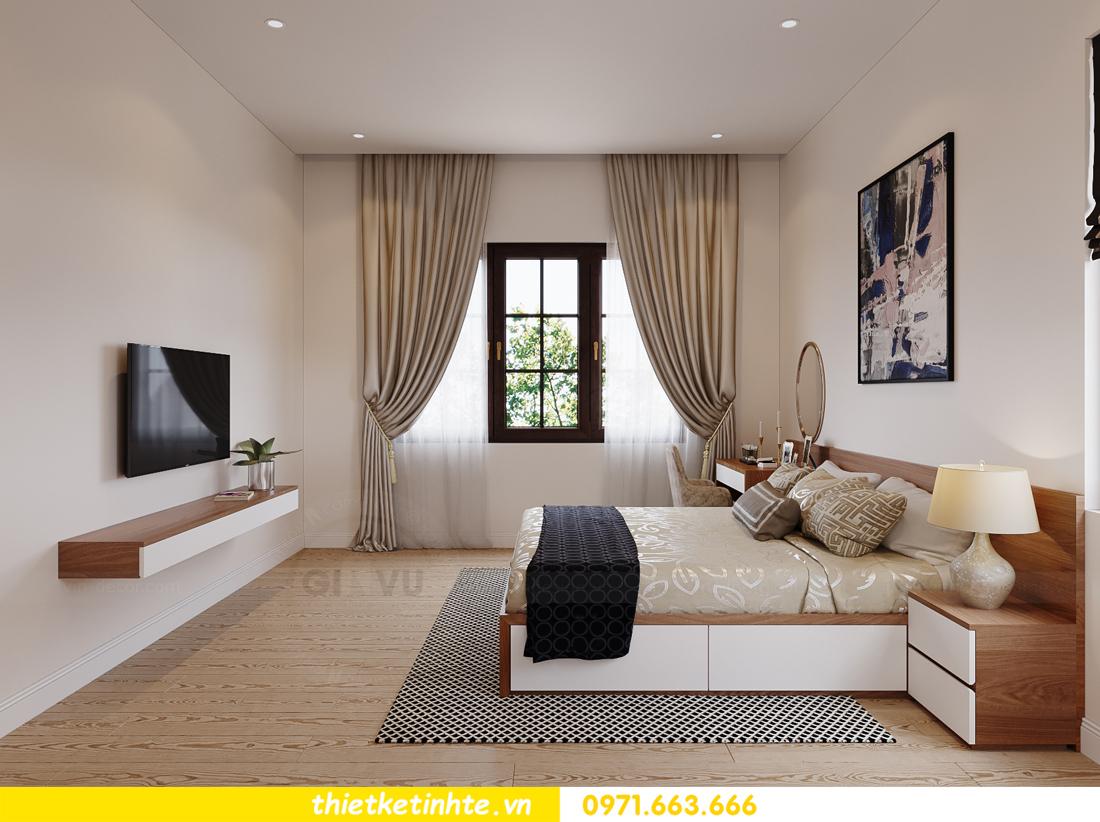 thiết kế nội thất nhà phố hiện đại nhà chị Linh Bắc Giang 13