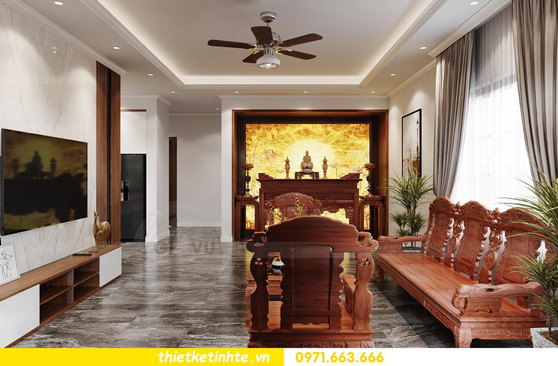 thiết kế nội thất nhà phố hiện đại nhà chị Linh Bắc Giang 2