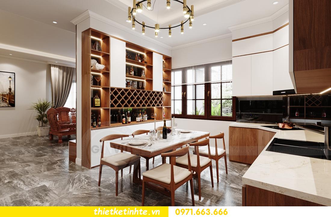 thiết kế nội thất nhà phố hiện đại nhà chị Linh Bắc Giang 4