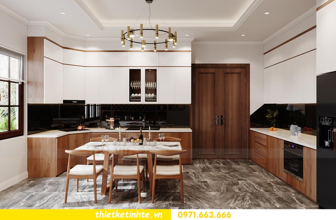 thiết kế nội thất nhà phố hiện đại nhà chị Linh Bắc Giang 5