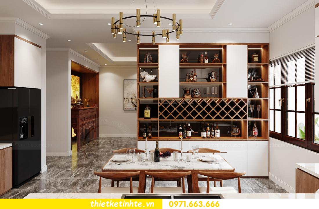 thiết kế nội thất nhà phố hiện đại nhà chị Linh Bắc Giang 6