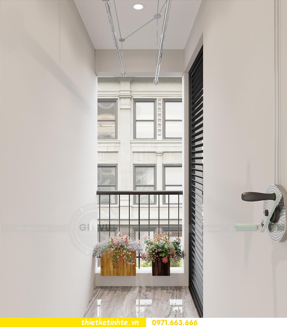 thiết kế nội thất tòa W3 căn hộ 05 Vinhomes West Point nhà chị Hà 11