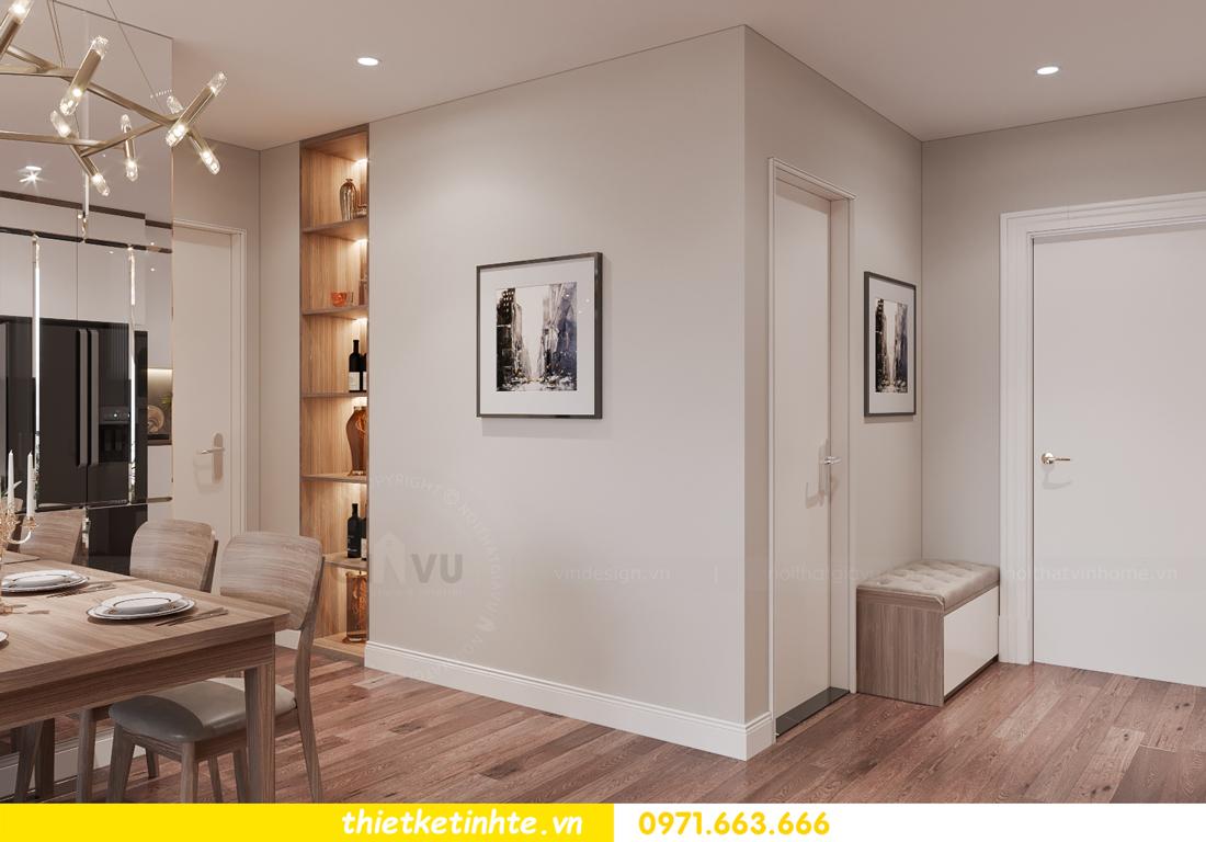 thiết kế nội thất tòa W3 căn hộ 05 Vinhomes West Point nhà chị Hà 2