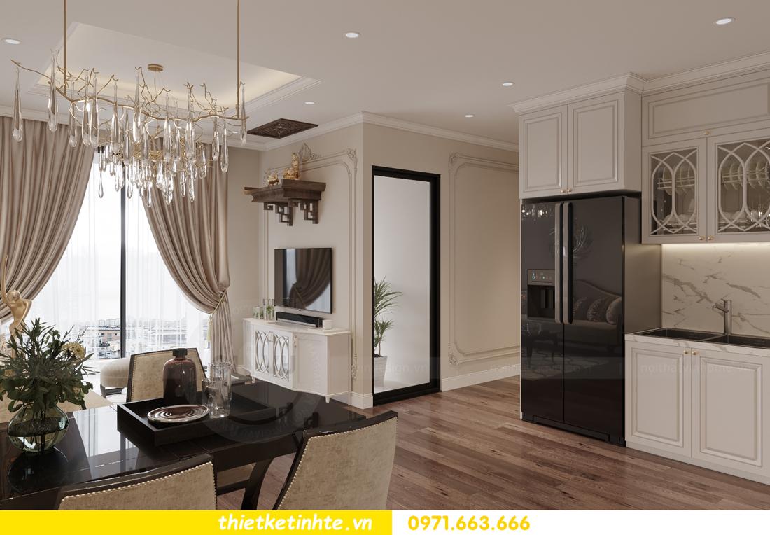 thiết kế nội thất Vinhomes Smart City phong cách tân cổ điển 2