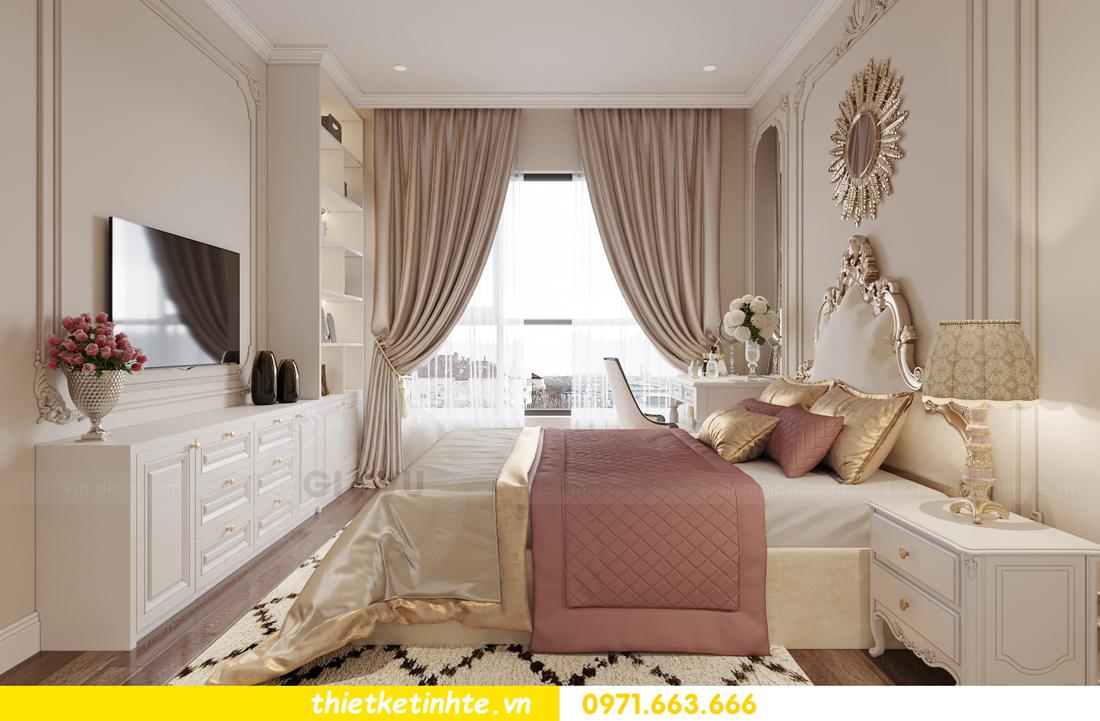 thiết kế nội thất Vinhomes Smart City phong cách tân cổ điển 6