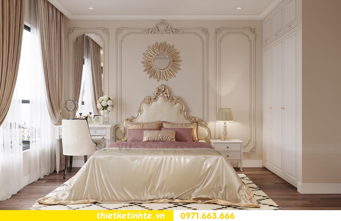 thiết kế nội thất Vinhomes Smart City phong cách tân cổ điển 7