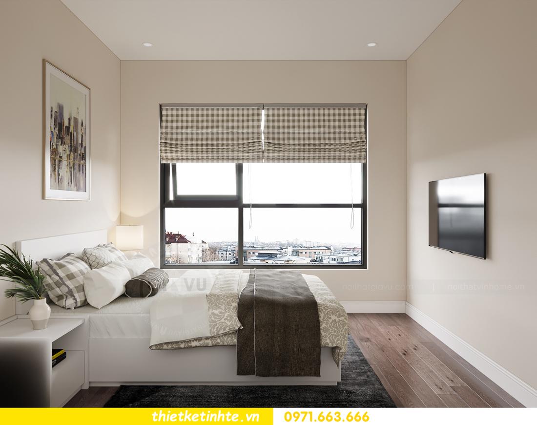 thiết kế nội thất Vinhomes Smart City phong cách tân cổ điển 8