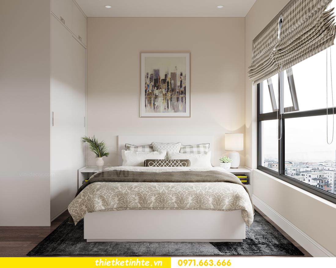 thiết kế nội thất Vinhomes Smart City phong cách tân cổ điển 9