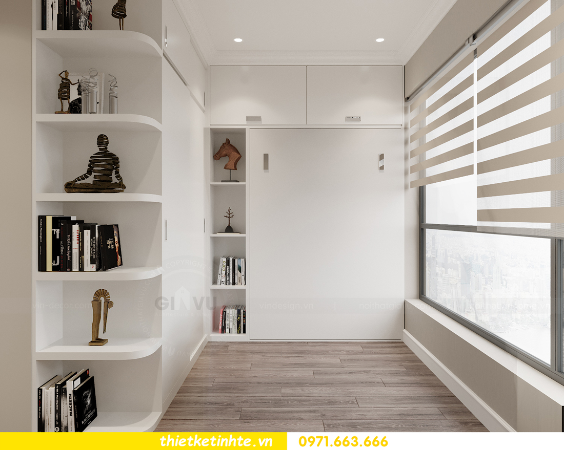 thiết kế thi công nội thất căn hộ West Point W3 03 chị Thu 10
