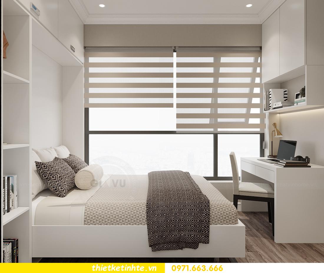 thiết kế thi công nội thất căn hộ West Point W3 03 chị Thu 12