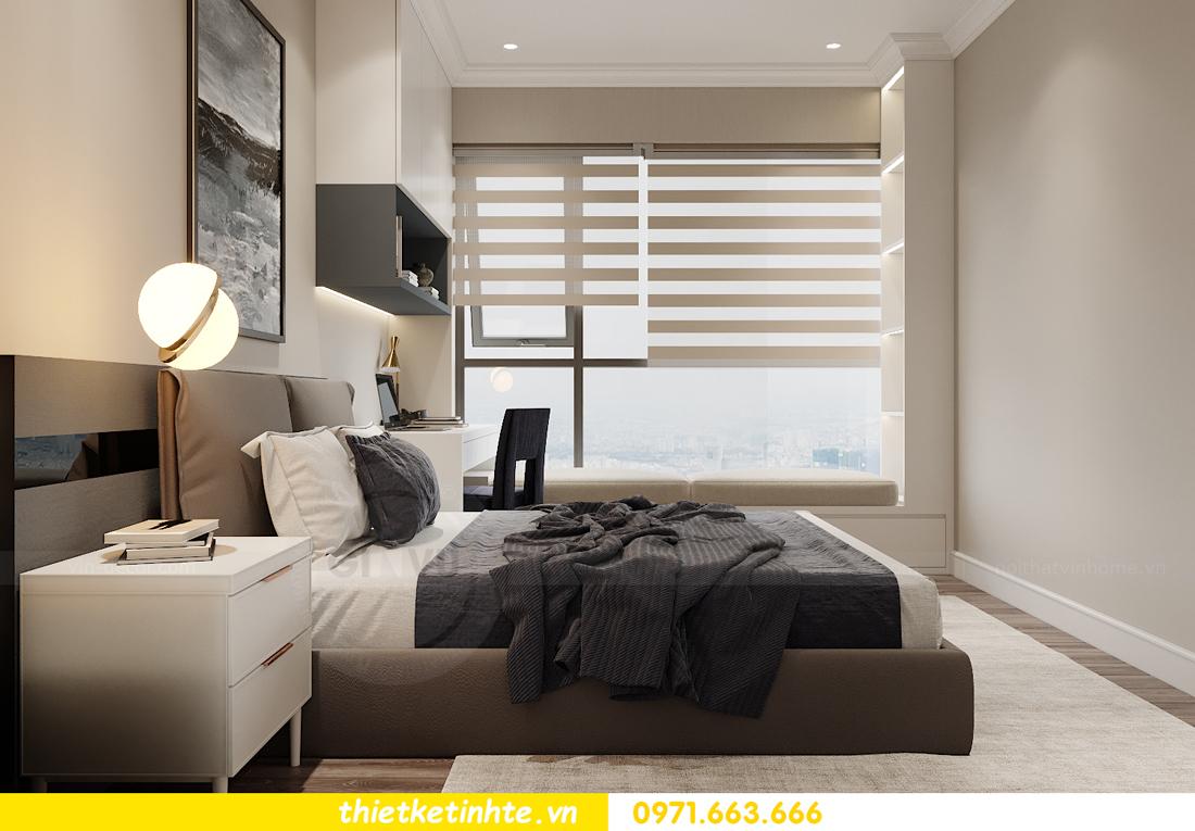 thiết kế thi công nội thất căn hộ West Point W3 03 chị Thu 16
