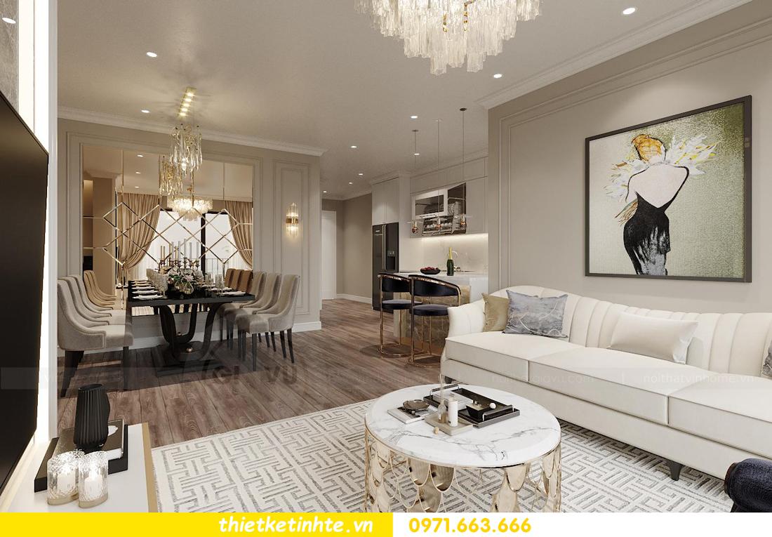 thiết kế thi công nội thất căn hộ West Point W3 03 chị Thu 2