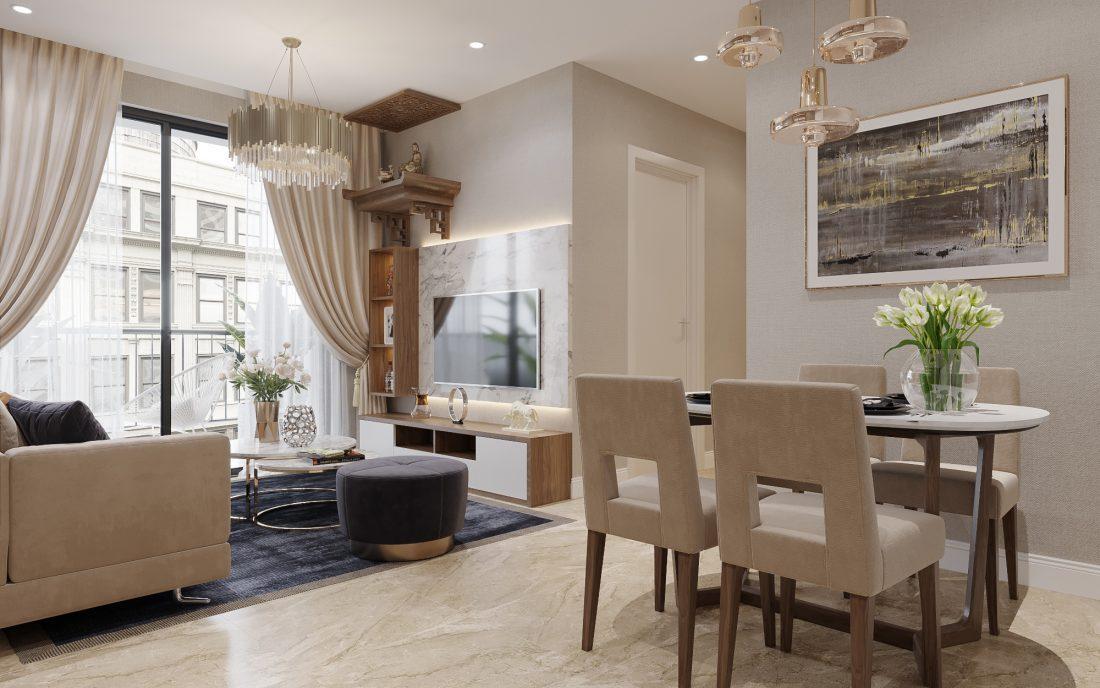 Tư vấn thiết kế nội thất Vinhomes Smart City đẹp, tinh tế